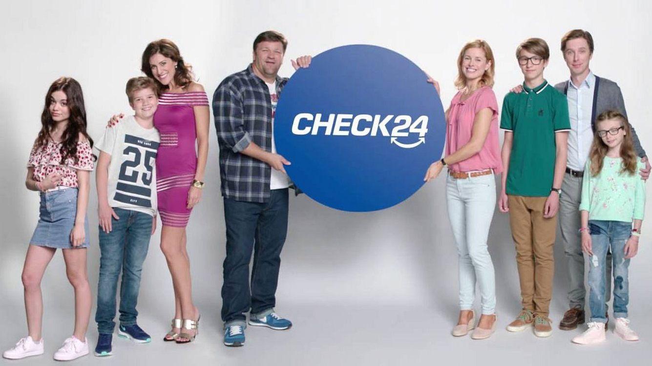 Check24 Familie Bergmann und Kruger