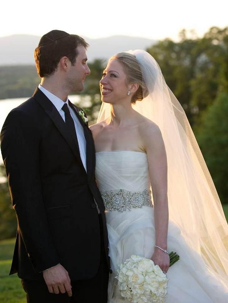 Chelsea Clinton und ihr Marc feierten ihre Traumhochzeit