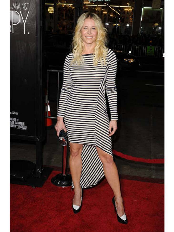 Die Stars lieben Vokuhila-KleiderVokuhila goes Street-Style: Late-Night-Show-Star Chelsea Handler (37) beweist, dass der Look auch ziemlich cool und leger rüberkommen kann.