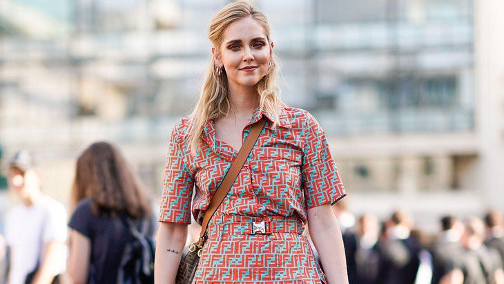 Influencerin Chiara Ferragni trägt DEN Haartrend des Sommers