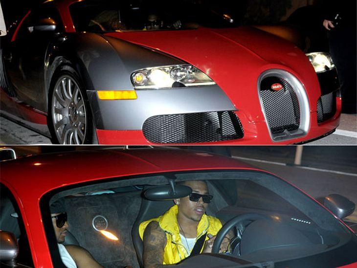Stars lieben Luxus: Luxus-AutoChris Brown und auch Cristiano Ronaldo fahren eines der teuersten Autos der Welt. Einen Bugatti Veyron für um die 1,8 Millionen Euro.