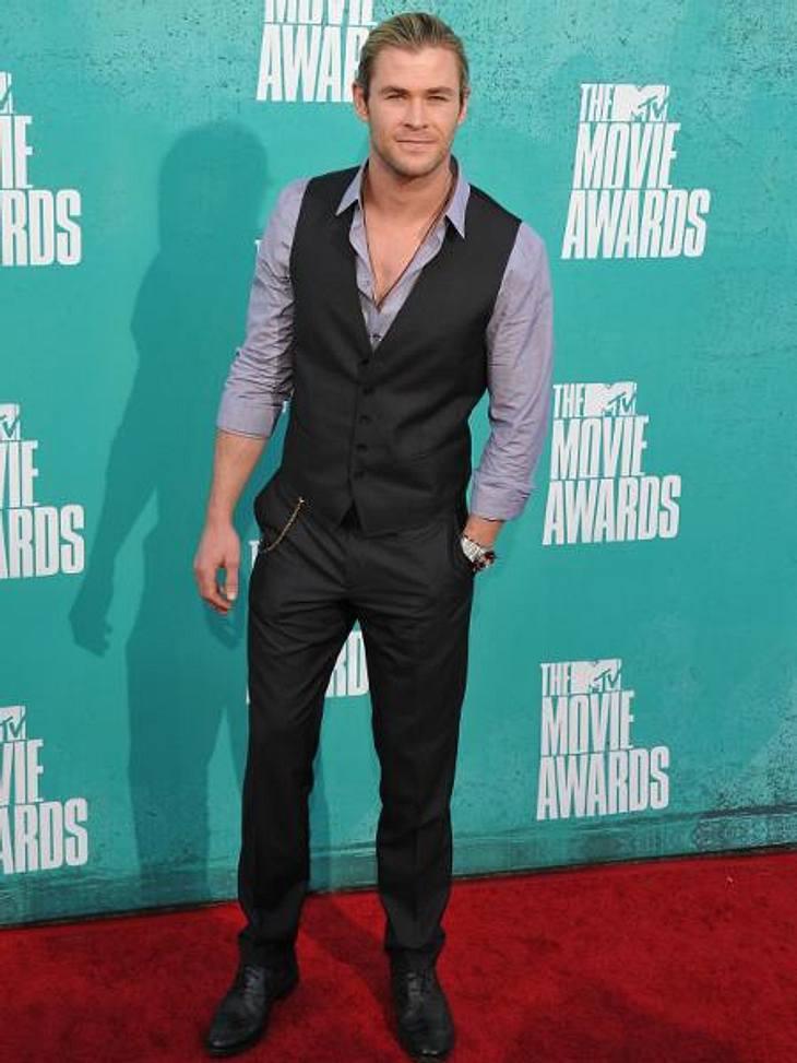 """""""Fifty Shades Of Grey"""": Ganz Hollywood kämpft um die HauptrolleAuch sein Name ist in der Diskussion um die Hauptrolle bereits gefallen: Chris Hemsworth (28) selbst hält sich aber noch zurück. """"Ich weiß nicht, vielleicht bin i"""