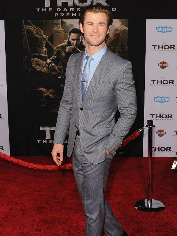 Chris Hemsworth und seine Frau werden zum zweiten Mal Eltern