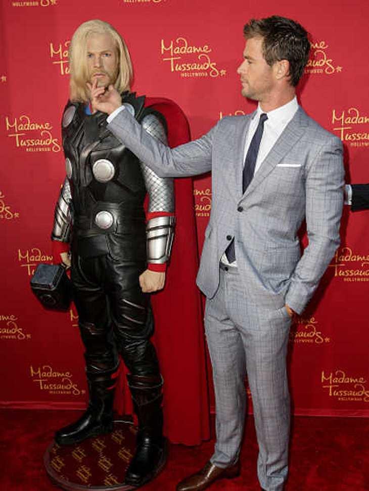 Chris Hemsworth: Unzufrieden mit der eigenen Wachsfígur