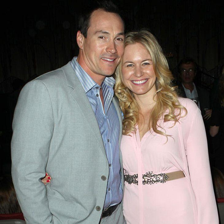 Chris Klein und seine Frau Laina Rose Thyfault werden zum ersten Mal Eltern