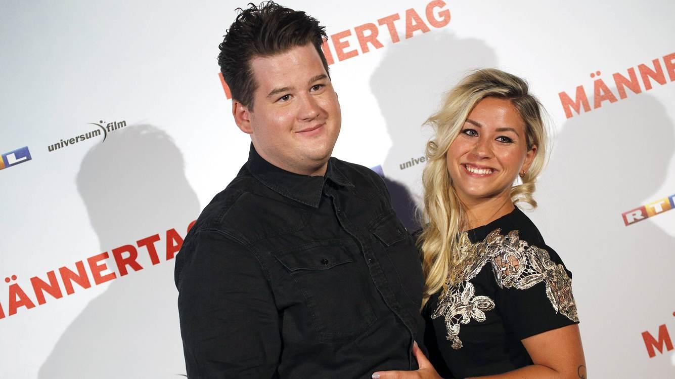 Chris Tall mit Freundin Sabrina Fischer