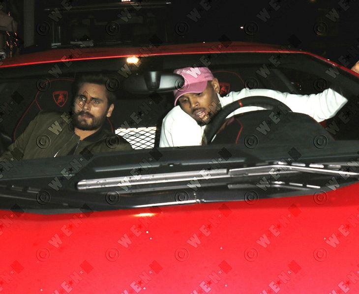 Chris Brown und Scott Disick gemeinsam auf Achse