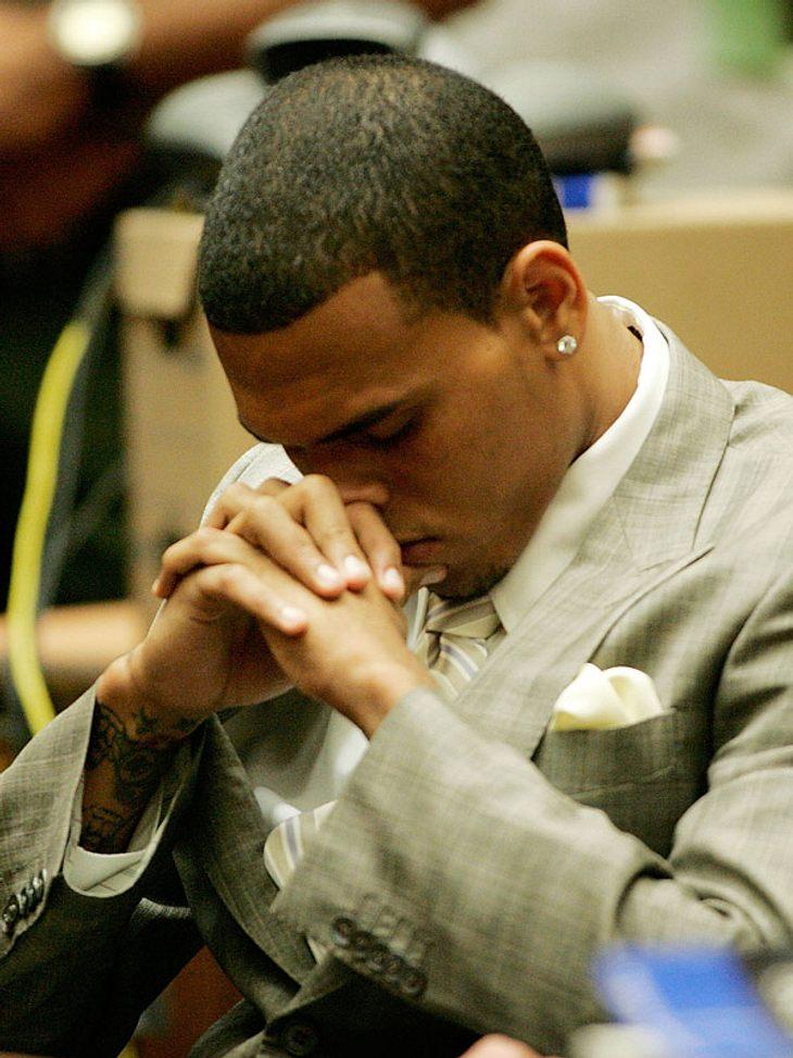 Ist Chris Brown endlich bewusst geworden, was er seiner Ex, Rihanna, angetan hat?