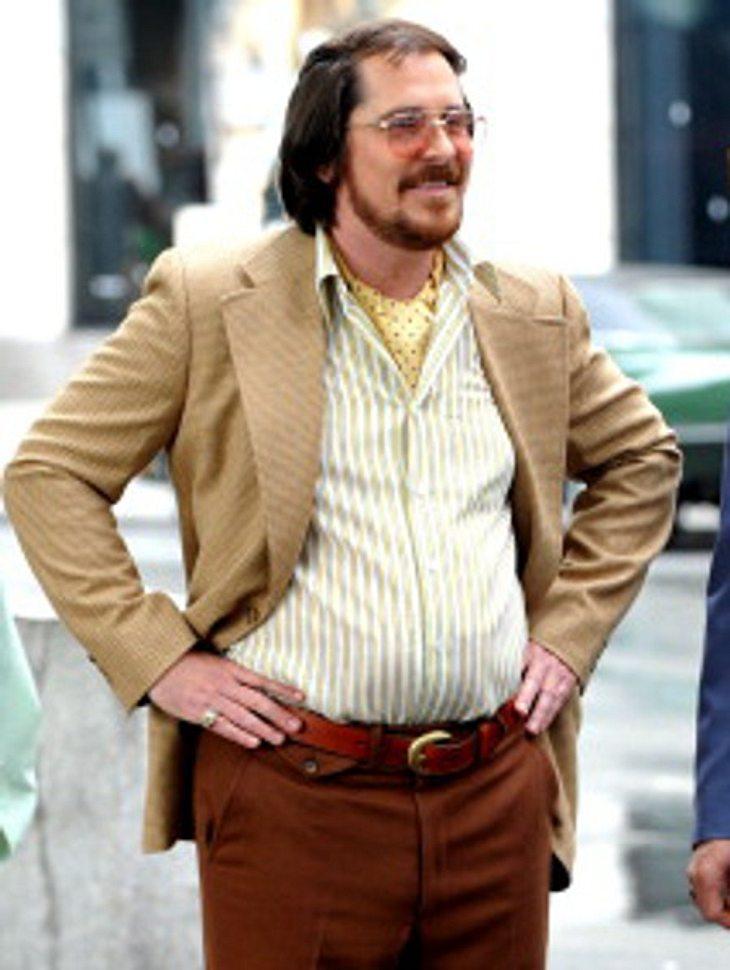 Christian Bale: Plötzlich dick!