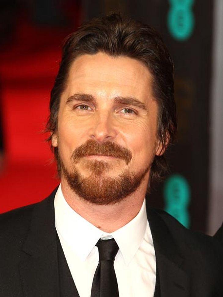 Für die meisten Fans der einzig wahre Batman: Christian Bale!