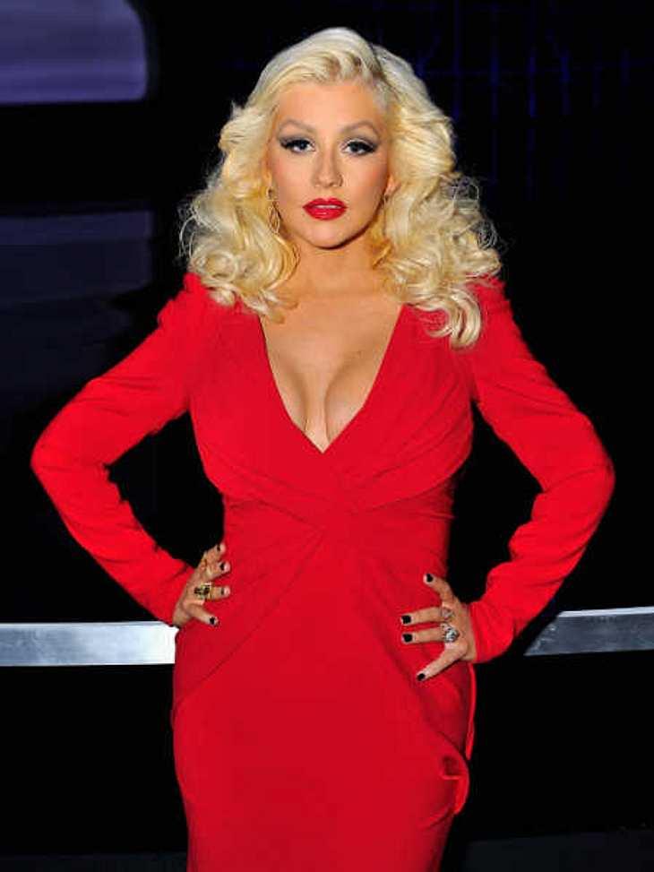 Christina Aguilera zeigte ihren After-Baby-Body.