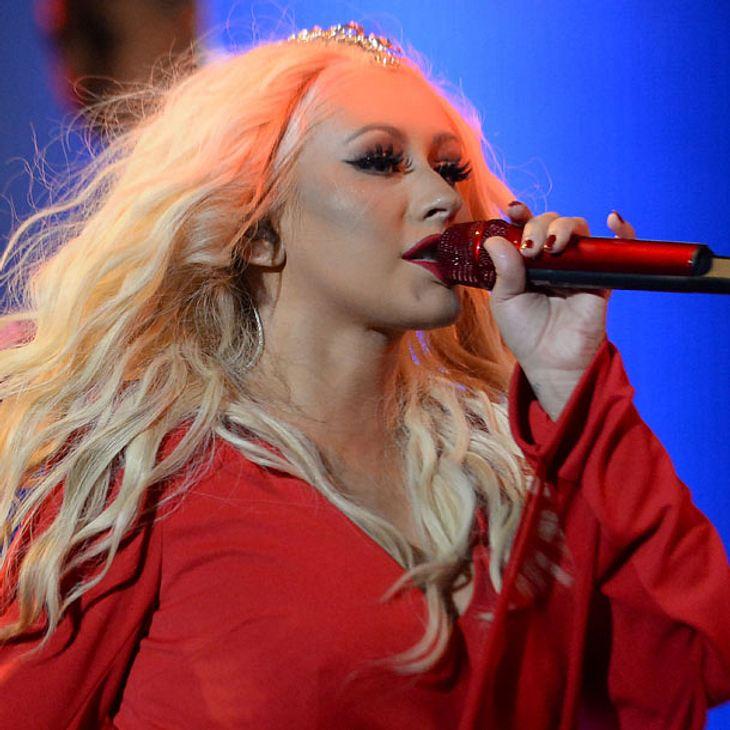 Christina Aguilera ist nicht mehr blond