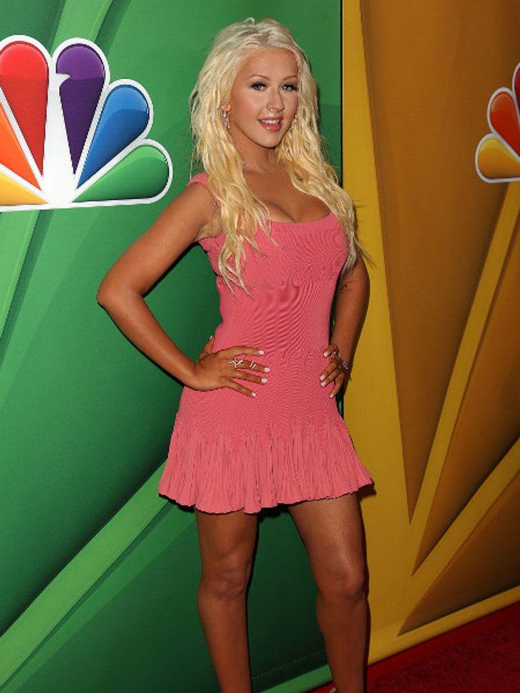 So schlank war Christina Aguilera schon lange nicht mehr.