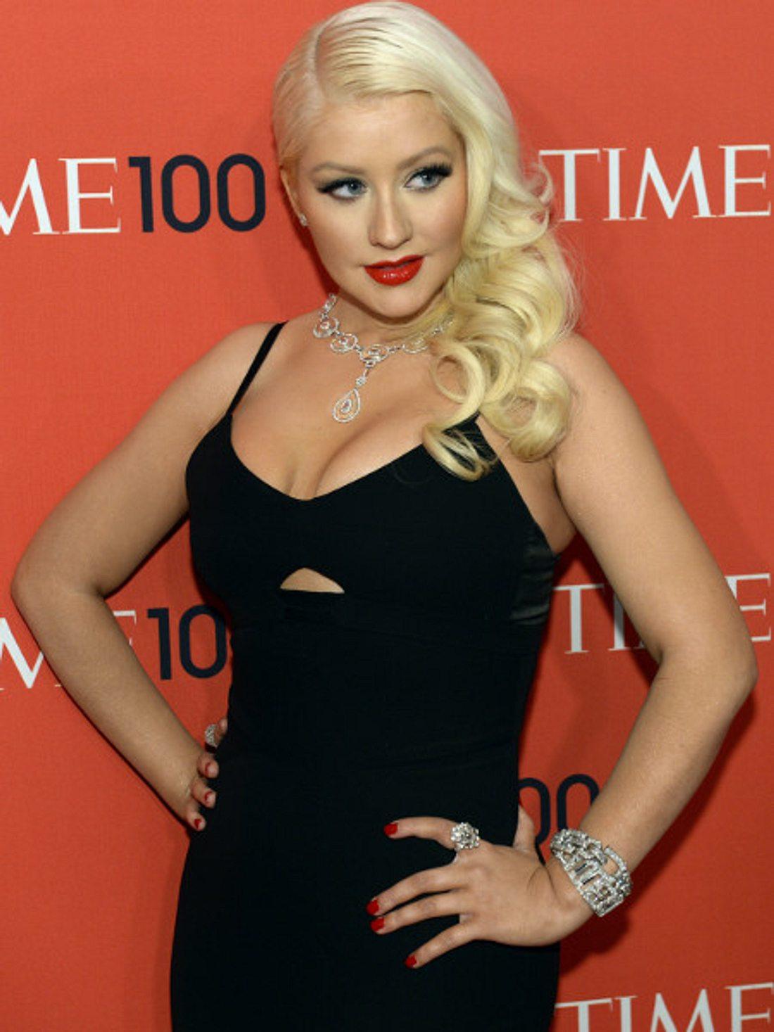 """Christina Aguilera kassiert einen fetten Scheck für """"The Voice""""."""