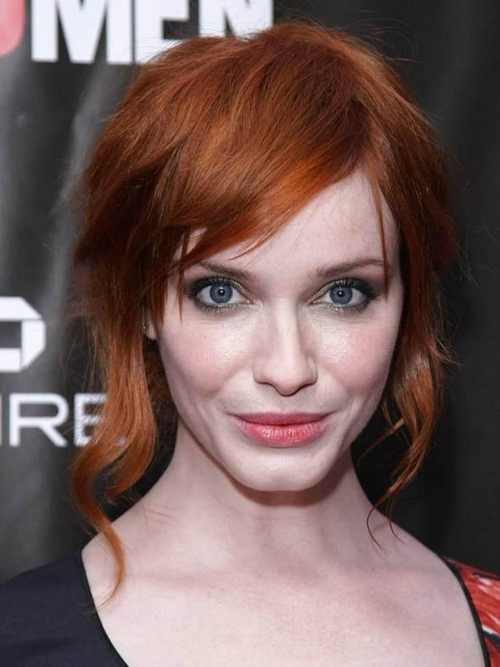 """Die schönsten Stars 2012Platz 6: """"Mad Men""""-Star Christina Hendricks (36) zeigt mit ihrer Platzierung, dass auch sehr kurvige Frauen in Hollywood konkurrenzfähig sind."""