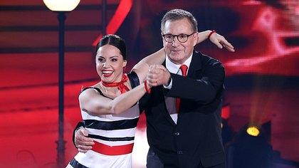 Christina Luft und Jan Hofer - Foto: TVNOW/ Frank W. Hempel