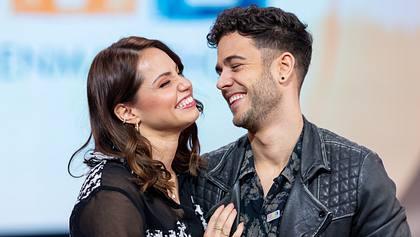Christina Luft und Luca Hänni - Foto: oshua Sammer/Getty Images