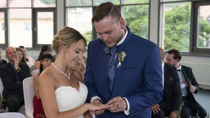 Christina und Marcel von Hochzeit auf den ersten Blick