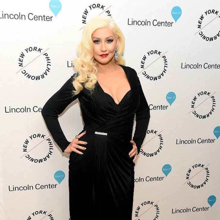 Christina Aguilera verbringt gerade viel Zeit im Tonstudio