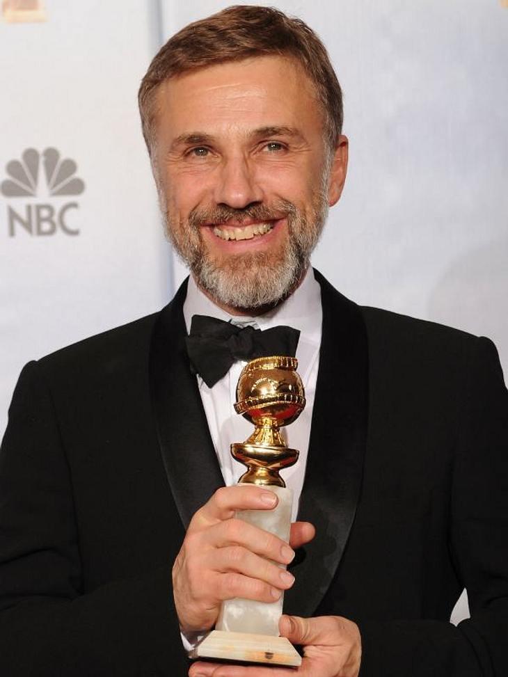 """Schon 2009 konnte sich Christoph Waltz über den """"Golden Globe"""" freuen"""