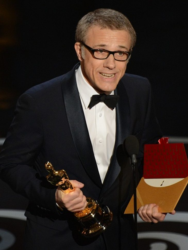 Christoph Waltz gewinnt den Oscar als bester Nebendarsteller