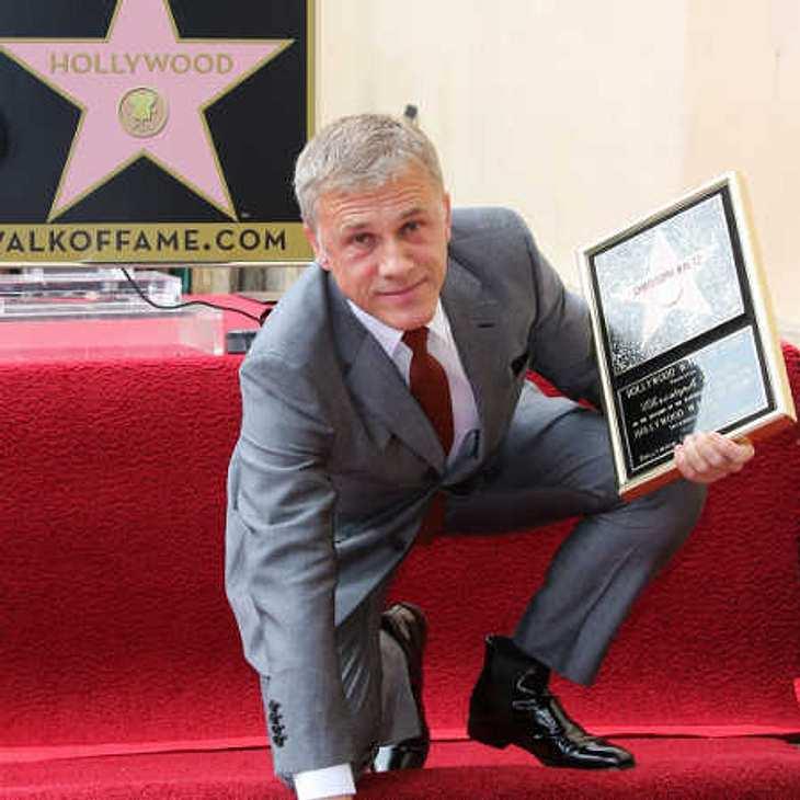 Christoph Waltz: Stolz auf seinen Stern auf dem Walk of Fame!