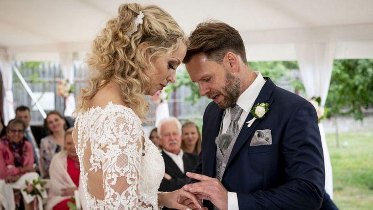 Cindy und Alex von Hochzeit auf den ersten Blick