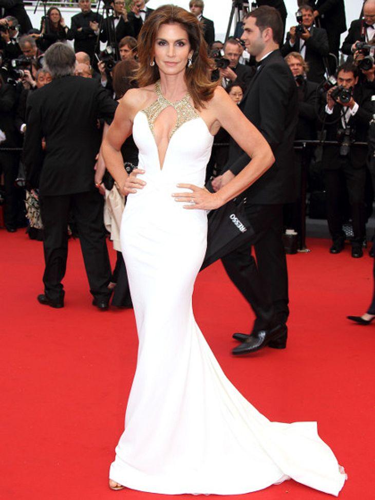 Cindy Crawford ist in Cannes wunderschön.