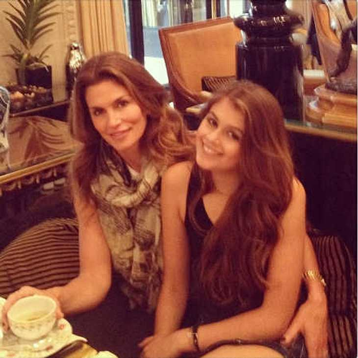 Cindy Crawford & Tochter Kaia