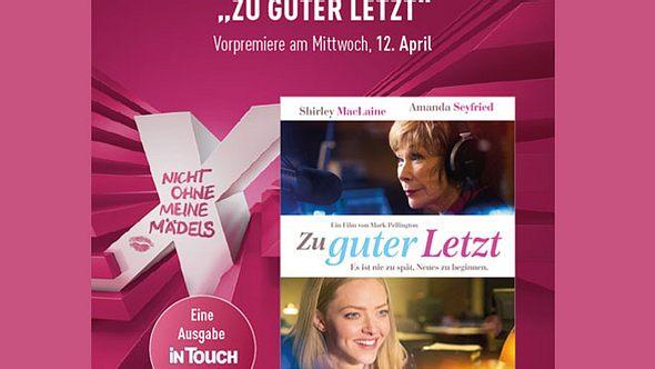 Gewinne 25x2 Tickets für die Cinemaxx-Ladies Night zur Vorpremiere von Zu guter Letzt