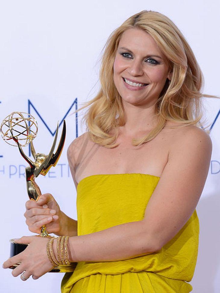 """Claire Danes nahm einen der begehrten """"Emmy Awards"""" mit nach Hause"""