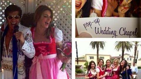 Claudelle Deckert zeigt ihre Hochzeitsfotos - Foto: Facebook