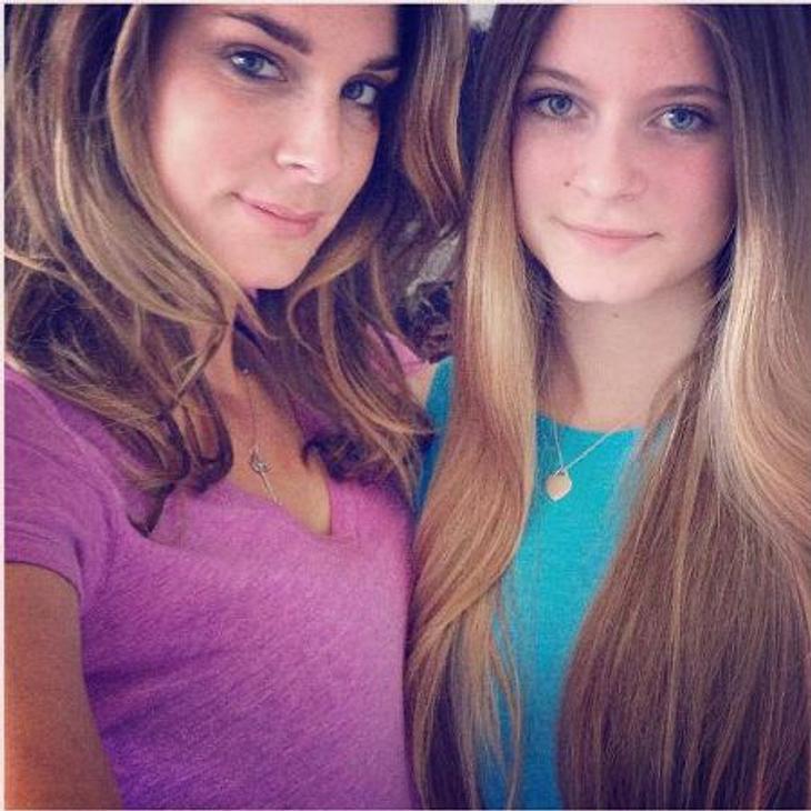 Claudelle Deckert und ihre Tochter