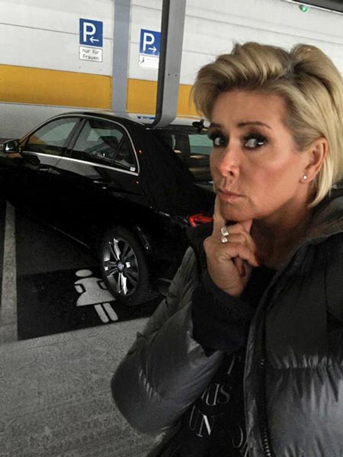 Claudia Effenberg ärgert sich über Park-Rüpel