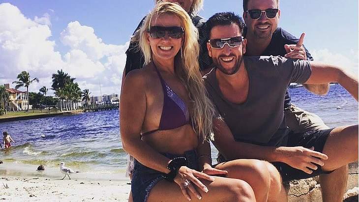 Claudia Norberg und Michael Wendler im Urlaub