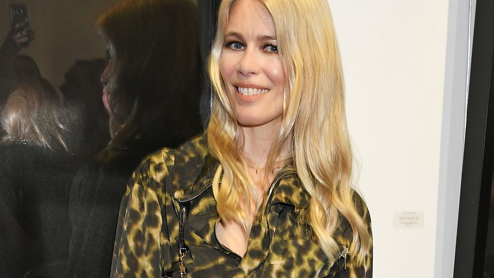 Claudia Schiffer vorher - Foto: Getty Images