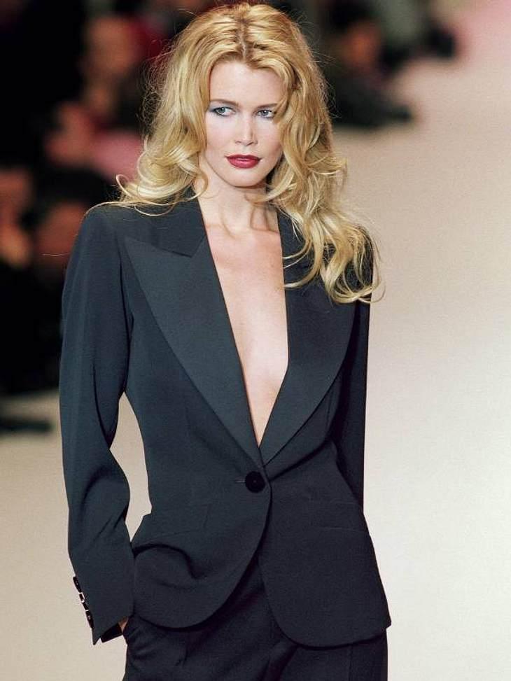 Ein Phänomen: Claudia Schiffer ist heute immer noch so schön wie vor 16 Jahren.