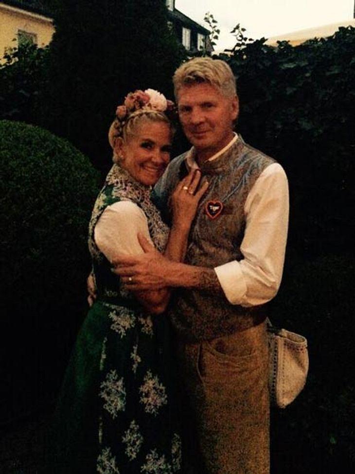 Stefan und Claudia Effenberg - total verknallt