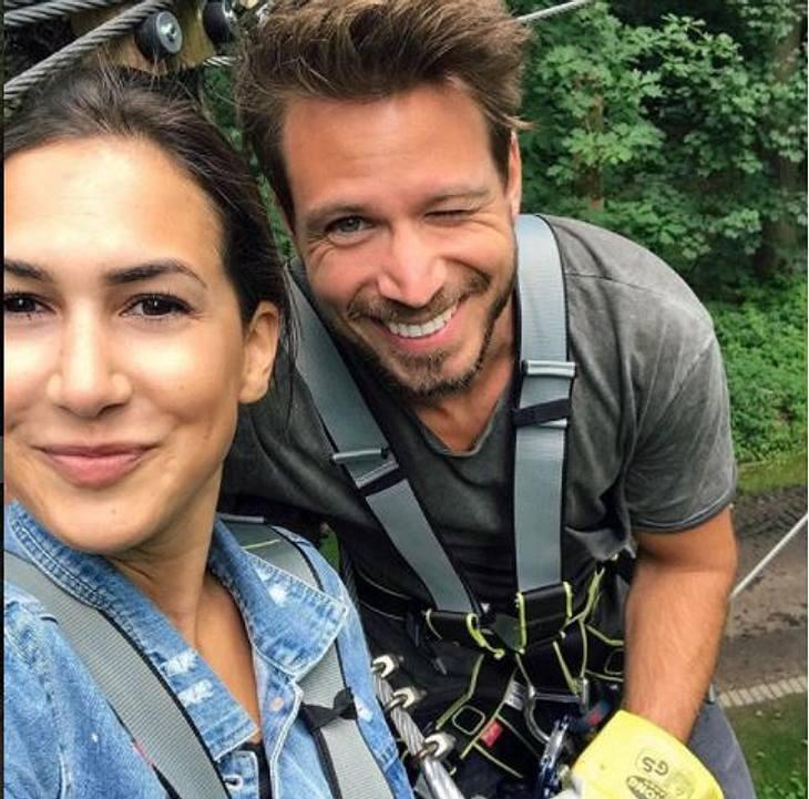 Sebastian Pannek & Clea-Lacy Juhn: Heimliche Hochzeit?