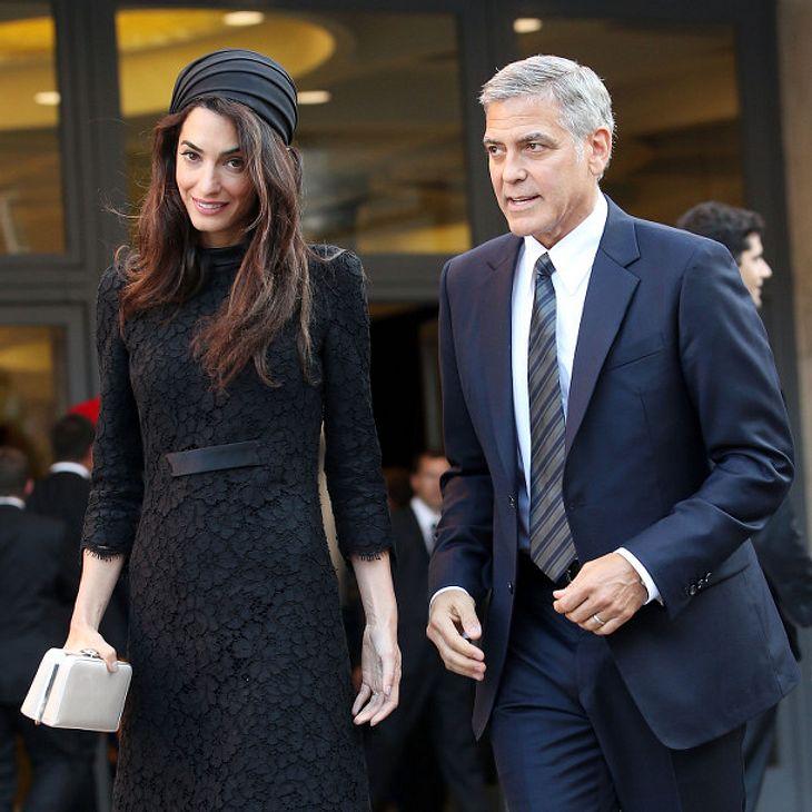 George und Amal Clooney erwarten offenbar ihr erstes Kind