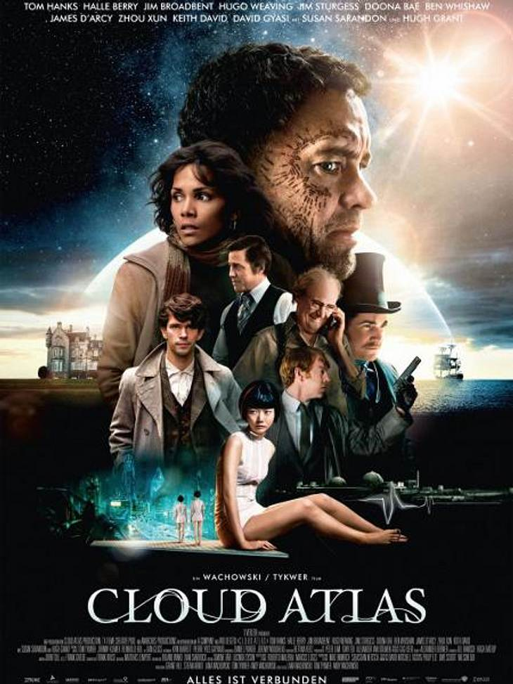 "Ab 15.11. im Kino: ""Cloud Atlas"""