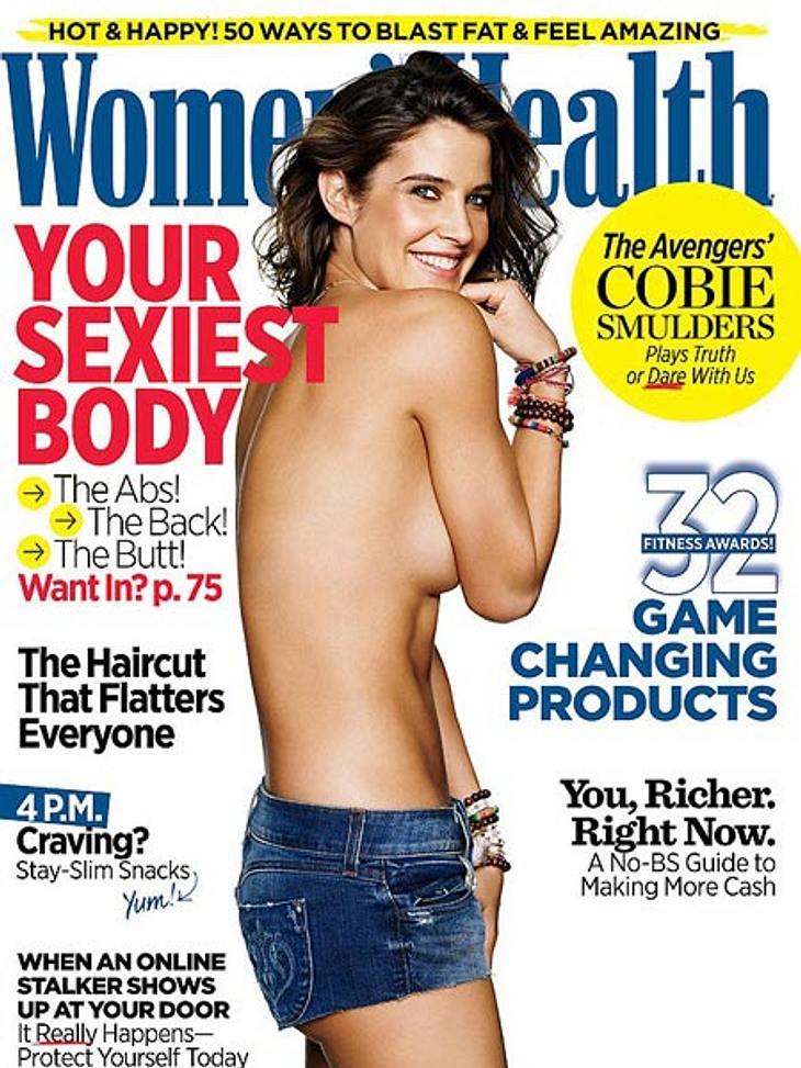 Für das Women's Health Cover lässt sie die Hüllen fallen