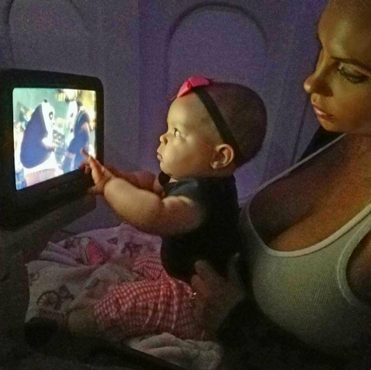 Coco Austin: Shitstorm nach Foto von Baby Chanel