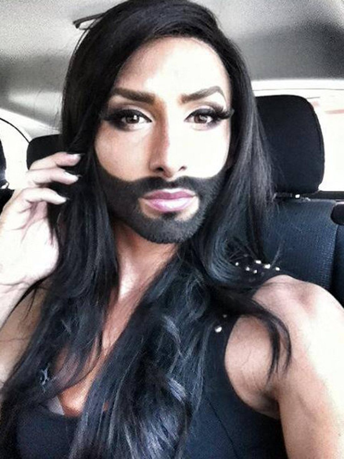 Conchita Wurst: Ihr Bart gehört zu ihr.