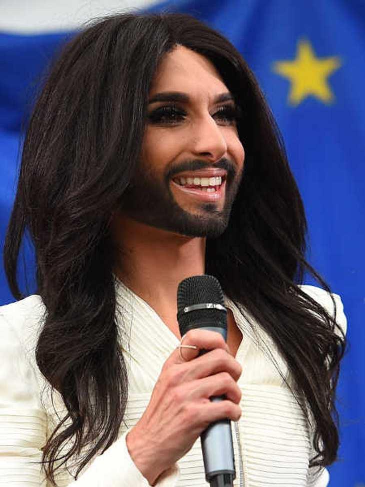 Conchita Wurst war zu Gast im Europaparlament in Brüssel.