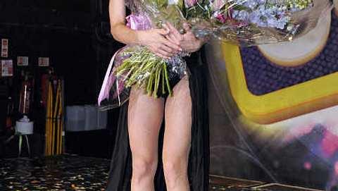Conchita Wust nach ihrem Auftritt im G.A.Y.-Club. - Foto: Chris Jepson/WENN.com