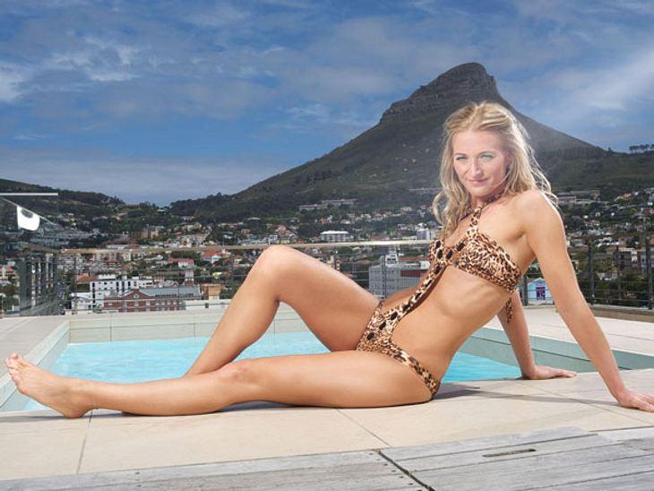 """""""Bachelor 2013"""": Bikini-Rätsel der Kandidatinnen - Wer ist das Playmate?Im rassigen Leo-Bikini präsentiert sich Conny (32)."""