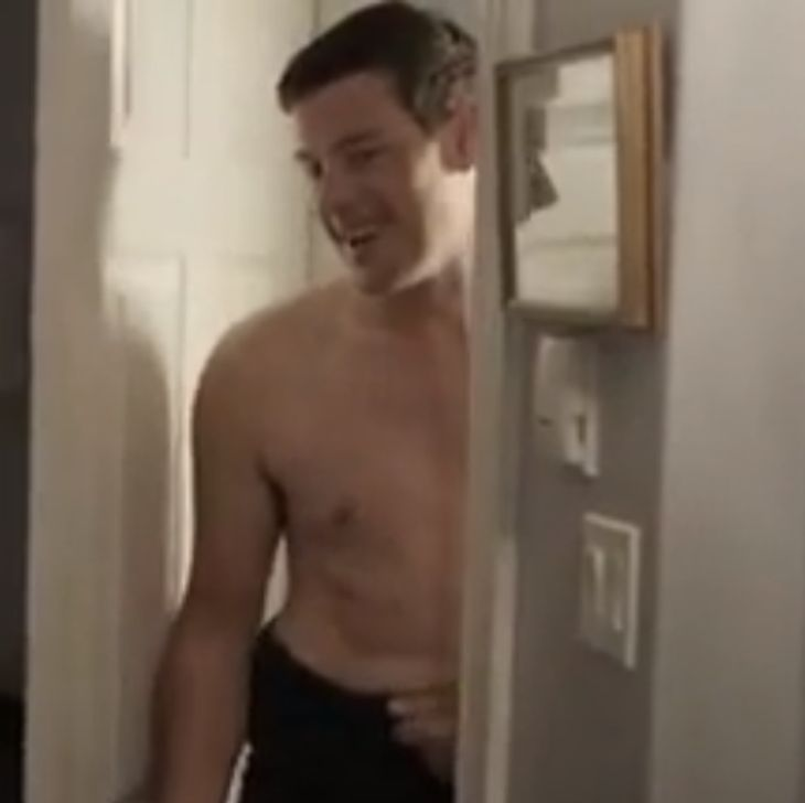 """Cory Monteith in """"All the wrong reasons"""""""