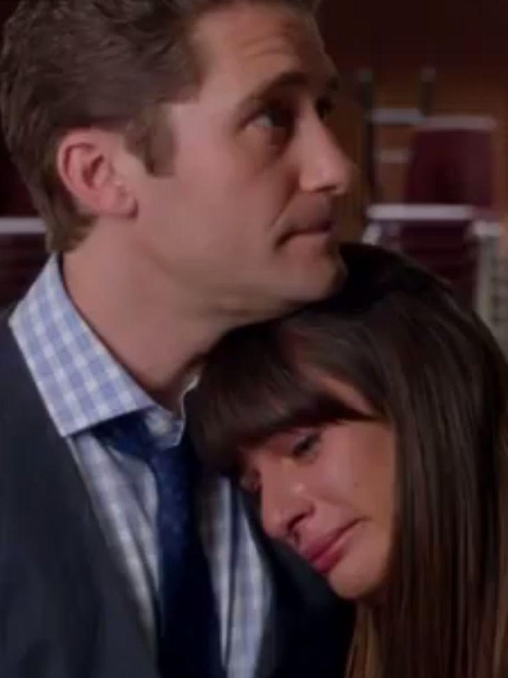 Rachel muss sich trösten lassen