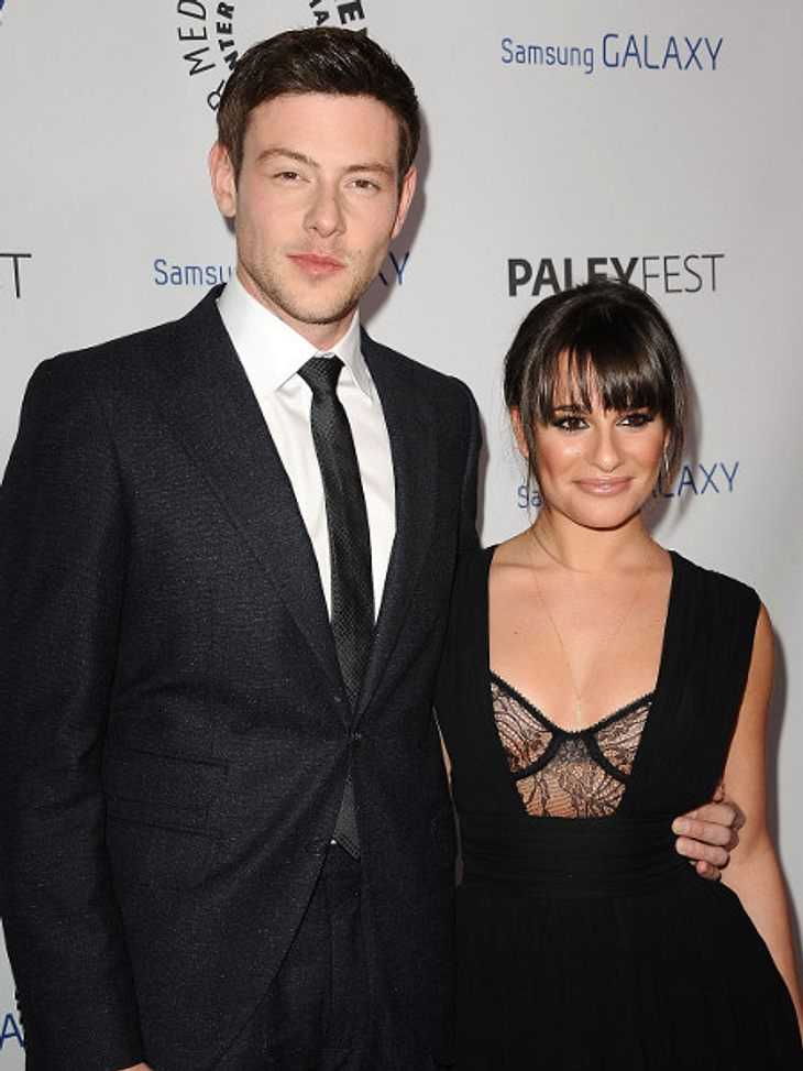 Cory Monteith bekommt Unterstützung von Freundin Lea Michele.